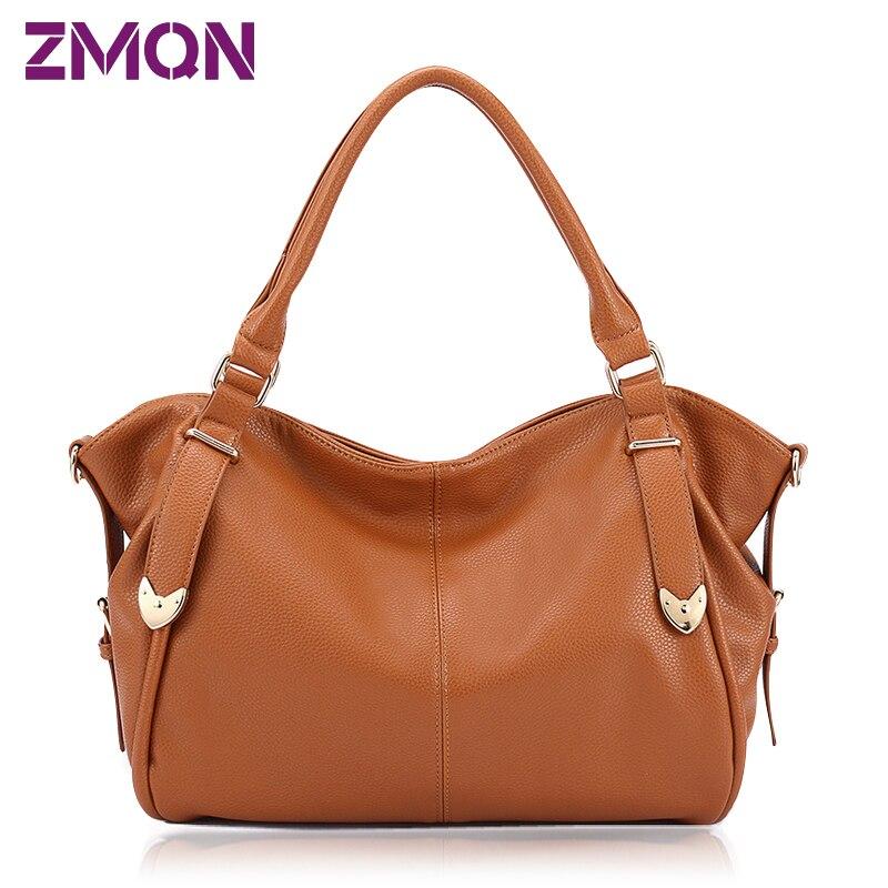 ФОТО Sale Hobos Bag Free Shipping Brown Bag Women Top-handle Bags Female Handbags For Girl Soft Women-bag Branded Sac Bolsas De Marca