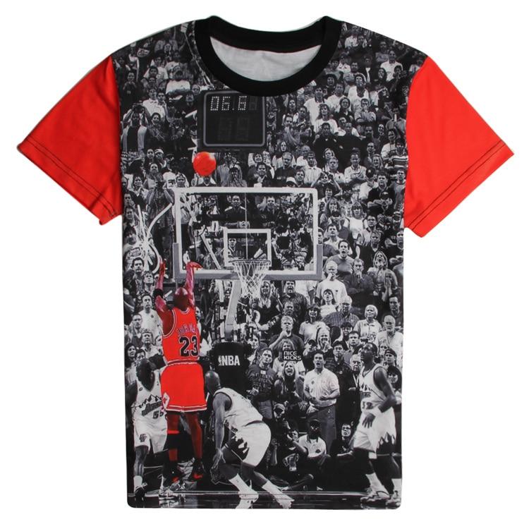 d590cc10ae2056 Detail Feedback Questions about Classic Style 3D T Shirt Star Jordan Last  Shot Cool Print Short Sleeve T Shirt Hip Hop Streetwear Tops Casual Tees  Sweat ...