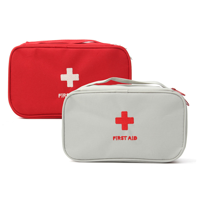 Portable Empty First Aid Bag Kit Pouch Home Office Medical Emergency Travel Rescue Case Bag Medical Package lopor for suzuki bandit gsf600 1995 1996 1997 1998 1999 motorcycle aluminium oil cooler radiator black