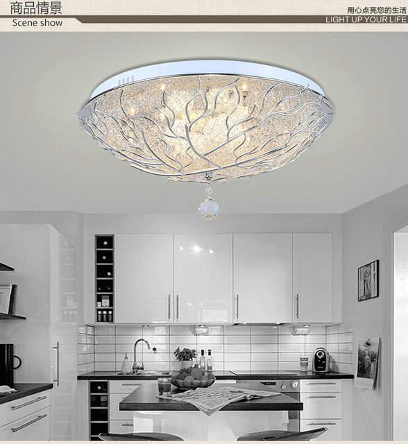 114 25 Dormitorio Estudio Terraza Creativo Aluminio Pájaro Nido Lámpara De Techo Redondo Hecho A Mano Mediterráneo Conferencia Romántica Sala De