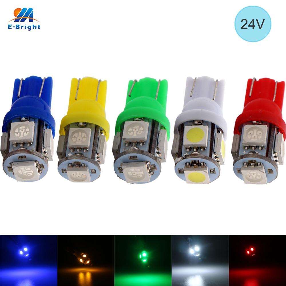 YM E Bright 24V DC 300PCS T10 5050 5 SMD SMD 194 168 W5W 5 LED