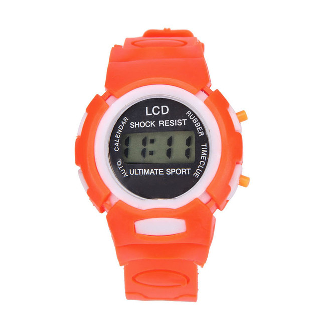 #5001Boys Girls Students Time Sport Electronic Digital LCD Wrist Watch DROPSHIPP