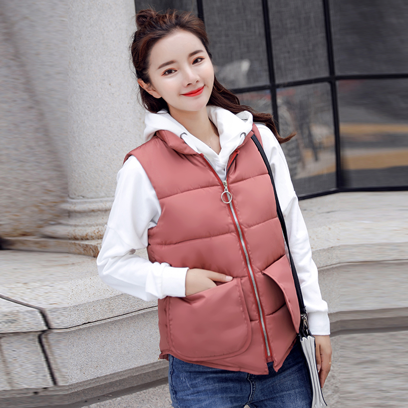 Cheap wholesale 2018 new summer  Hot selling women's fashion casual female nice warm Vest Outerwear L159