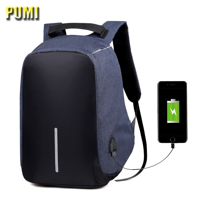 USB Charging Men Women 15 inch Multifunction Laptop Backpack Anti-Theft Design Travel Bag Fashion Student SchoolBag Male Mochila kingsons external charging usb function school backpack anti theft boy s girl s dayback women travel bag 15 6 inch 2017 new