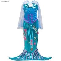 Summer Kids Dresses For Girls Toddler Children Clothes Lace Princess Girl TUTU Dress Moana Costume Clothing