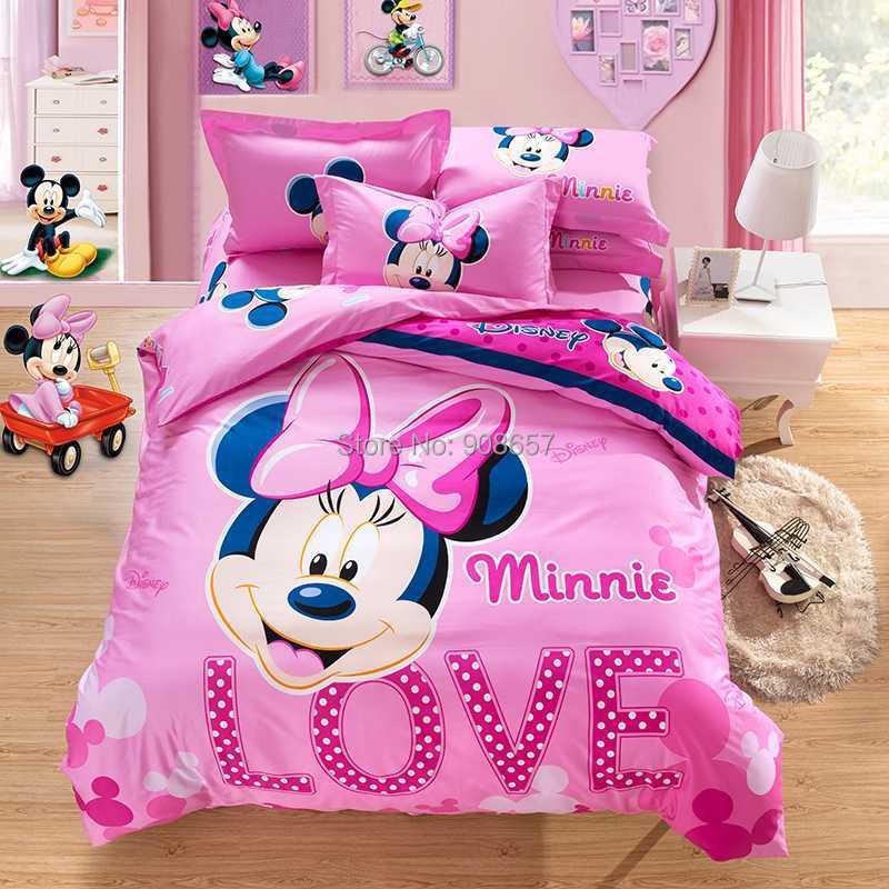 Online Get Cheap Minnie Mouse Bedding Set -Aliexpress.com ...