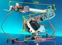 Abb Industrial Robot 798 Mechanical Arm 100% Alloy Manipulator 6 Axis Robot arm Rack with 7 Servos