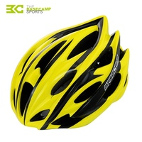 BaseCamp Brand Pro 24 Air Vents Ultralight Integrally Molded Bicycle Cycling Helmet MTB Road Bike Helmet