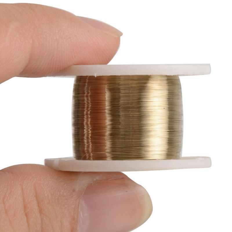 1 Volume 100m 0.08mm alliage fil de coupe molybdène fil séparateur Kit d'outils pour téléphone portable
