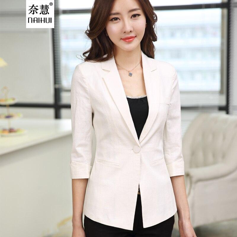 Lenshin lin respirant veste femmes vêtements d'été porter