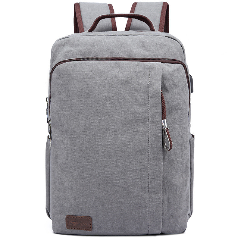 Canvas Backpack Large High School Student School Bag