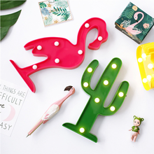 Christmas Night Light LED Flamingo Cactus  Tree Pineapple Home Decoration Beautiful Night Lamps cute letter flamingo led night light for baby pineapple pendant lamp cactus wall lamp marquee led for home christmas decoration