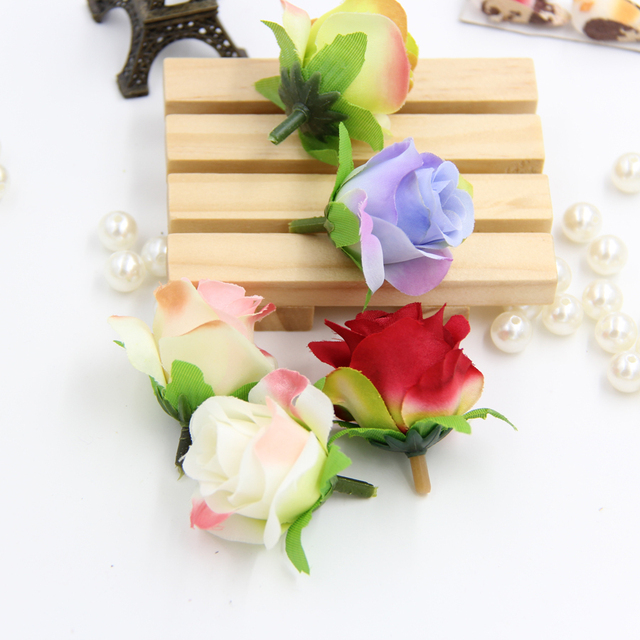 wholesale homemade wedding decoration silk flower heads centerpieces weddings artificial flowers decoration mariage - Aliexpress Decoration Mariage