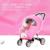 Top venta Universal Cochecitos sillas de paseo Del Carro de Bebé Cochecito cubierta Para la Lluvia Cubierta de Polvo A Prueba de Agua Del Parabrisas