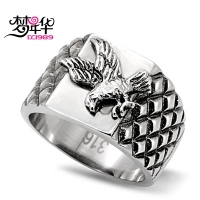 Unique Jewelry Stainless Steel Ring Women Men Fashion Rings Lead Nickel Free High Polishing No Coating