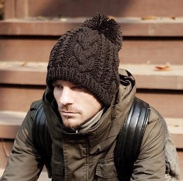 New 2013 Men s Winter Hat Beanie for Women Outdoors Cap Knitting Hat for Men  Ear warm Cap Sport Hat Free shipping-in Skullies   Beanies from Men s  Clothing ... 6bb99c74230