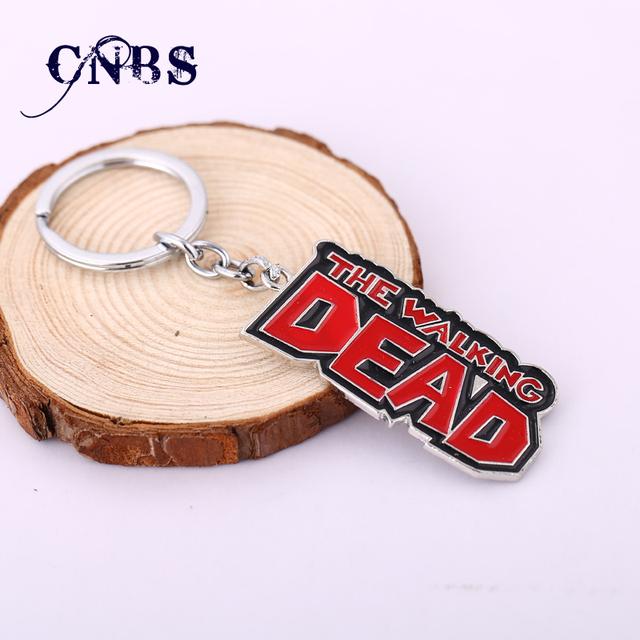 The Walking Dead Logo Keychain