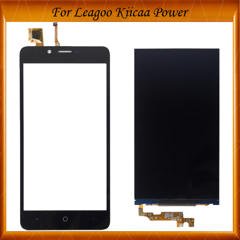 TOP Quality 100% Tested OK For Leagoo KIICAA Power LCD Display Touch Screen IN STOCK