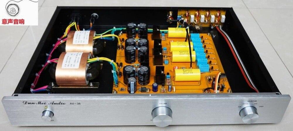 完成 Hifi プリアンプパス 1.7 電界効果トランジスタバランスプリアンプ -