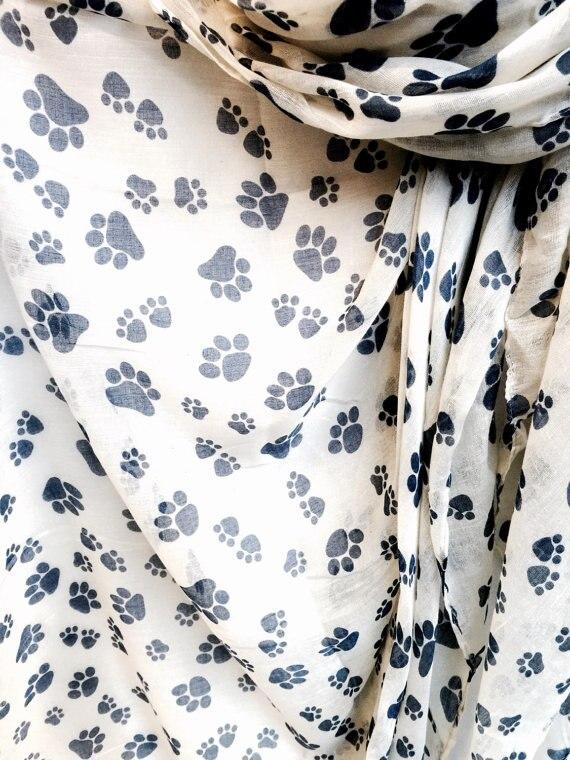 Νέο Animal Paw εκτυπώνει Off Λευκό άνοιξη & - Αξεσουάρ ένδυσης - Φωτογραφία 3