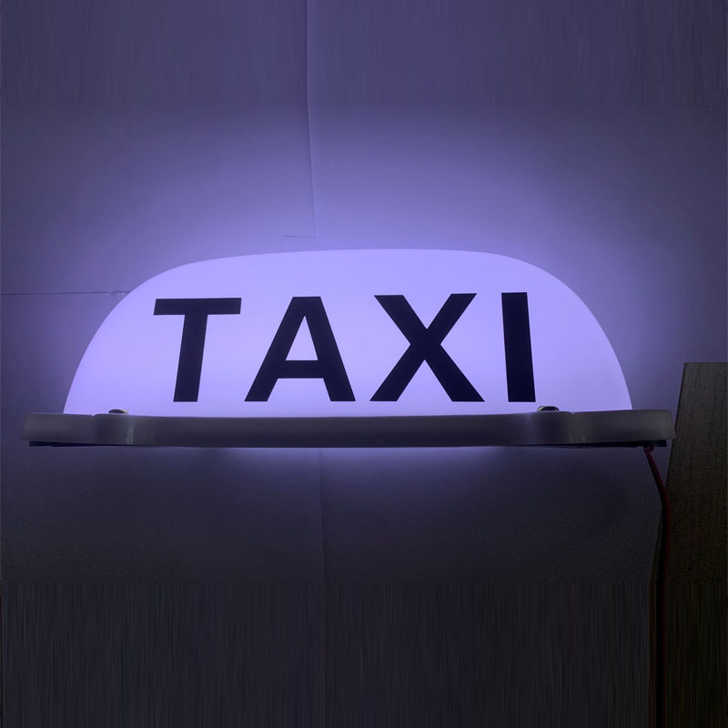 Taxi roof lamp/LED taxi logo 12V, with magnetic base sales of lamp