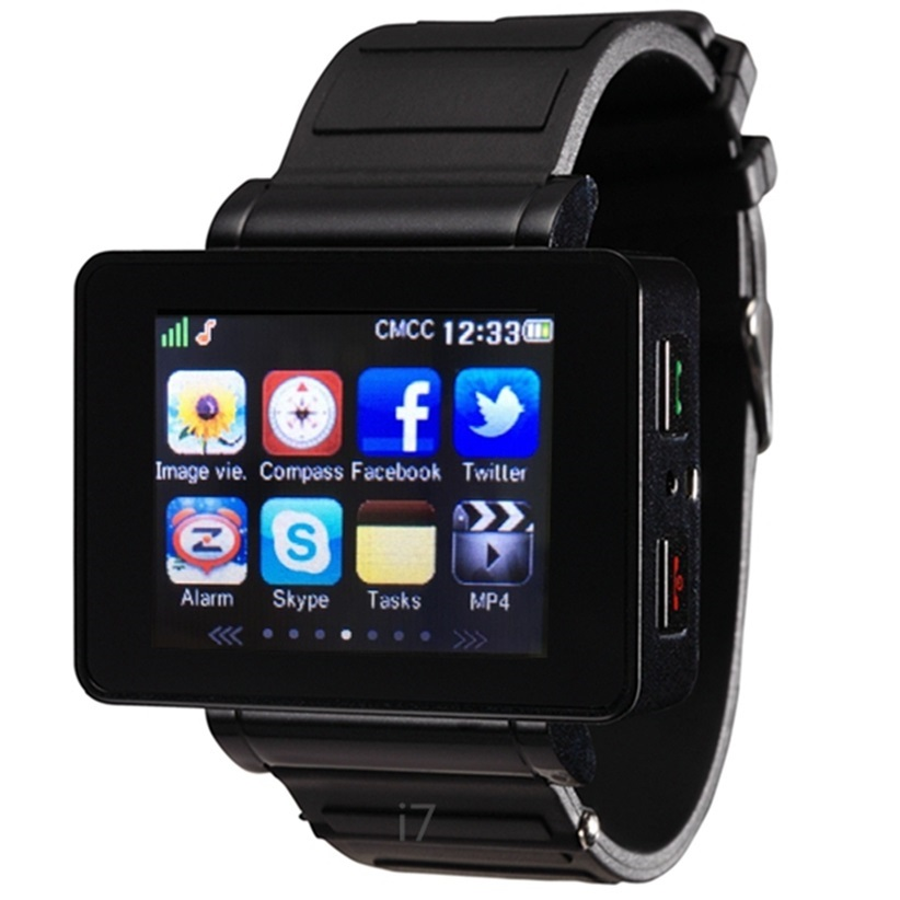 bluetooth sync smart watch i7 synchronise android,IOS phone pedometer,MP34,camer