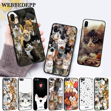 WEBBEDEPP Cat Cute Mouse Pig Cats Silicone Case for Xiaomi Redmi 4A 4X 5A 5 Plus S2 6 6A 7 7A K20 Pro Go