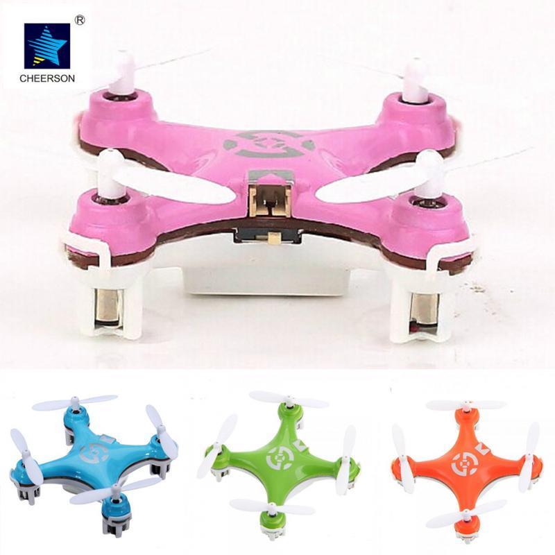Cheerson CX 10 Mini 2 4G 4CH 6 Axis LED RC Quadcopter RTF Micro Drone