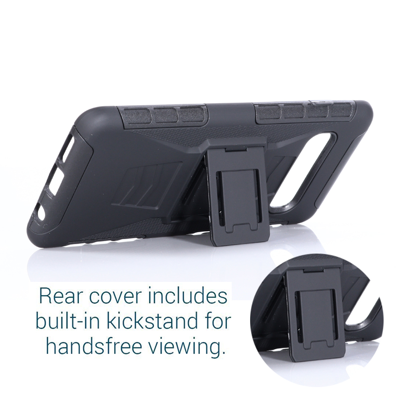 Heavy Duty Holster Defender Swivel Belt Clip Armor Case sFor Samsung S10 Plus S10 Lite S7 S5 S6 Note 3 4 5 J7 Rugged Phone Coque (2)