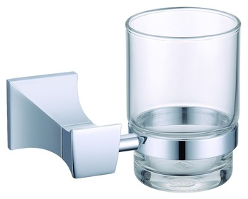 FREE SHIPPING  Square single cup holder chrome clour
