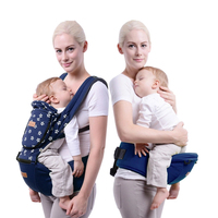 New 2 In 1 Baby Carrier Baby Infant Sling For Newborn Backpack Pouch Wrap Waist Hold