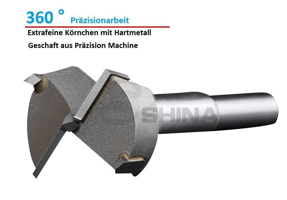 5Pcs Long Plates Woodworking Hole Saw Tungsten Carbide Drill Bits Cutting 15mm 17mm 19mm 21mm 23mm (KKQ-P15-23)  цены