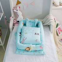Baby bedding baby baby bed sleeping basket three piece bed bed baby bedding