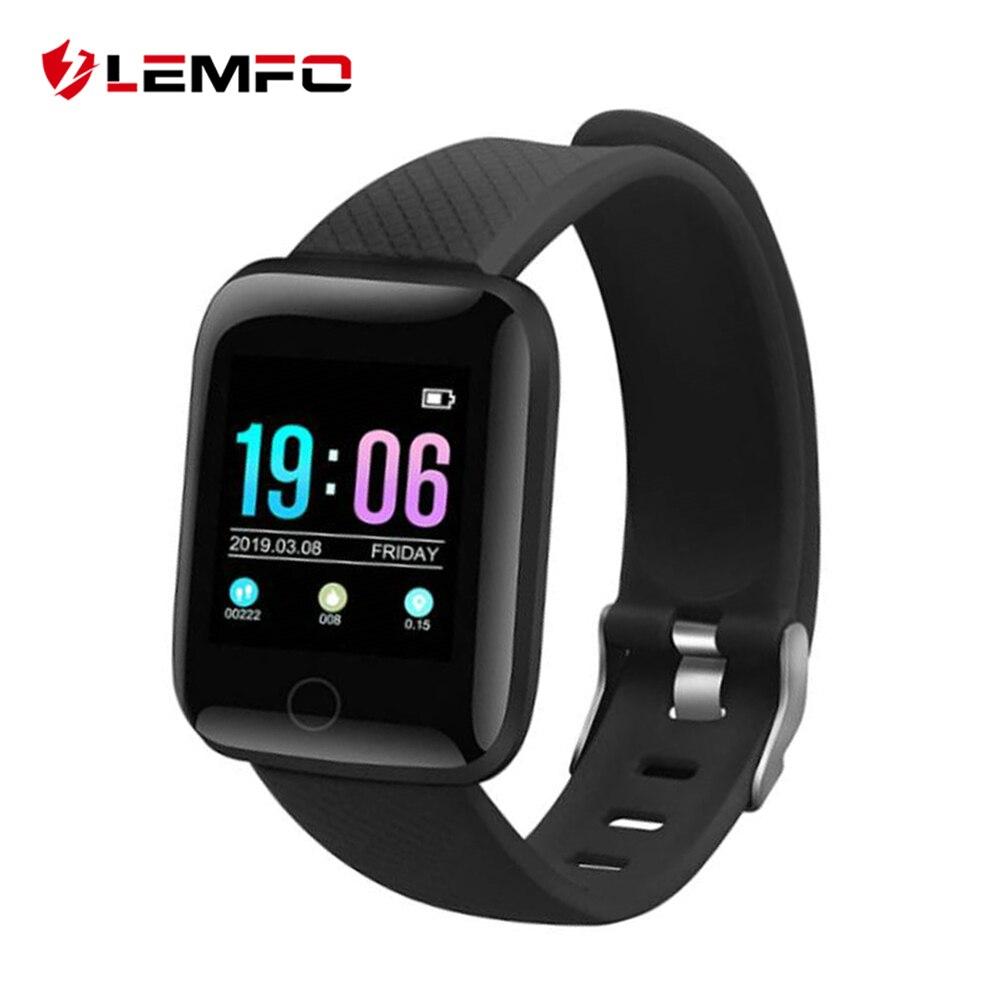 LEMFO D13 1.3 Inch Smart Watch Men IP67 Waterproof Heart Rate Monitor Smartwatch Women For