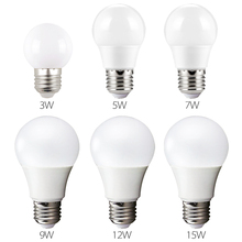 LED Bulb Lamps E27 220V-240V | 3W 5W 7W 9W 12W 15W High Brightness