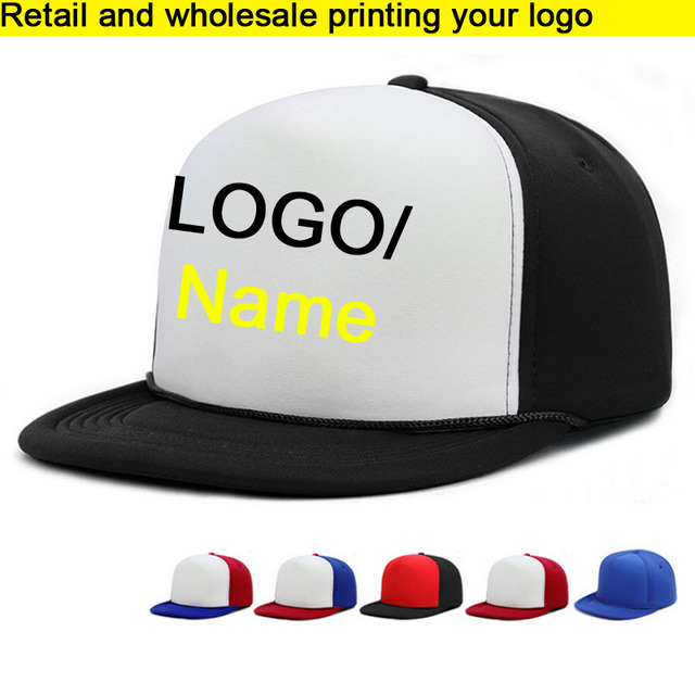 Retail HIPHOP Adult Baseball Hat Cobra cap BBoy Caps Flat brim Vinyl  Printing Cap Hip Hops Snapbacks For Men Women Custom LOGO bbd7e82c56a