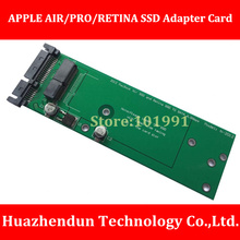 New Arrivals Solid State Hard Disk Transfer Card for 2012 APPLE AIR/PRO/RETINA General Type Free Bracket SSD to SATA