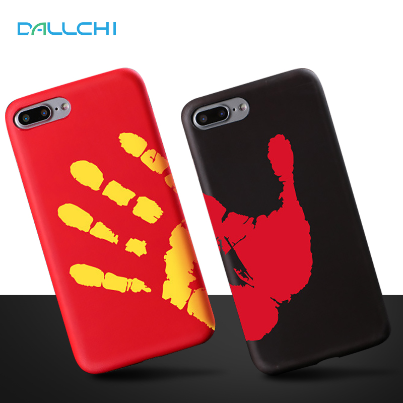 font b 2018 b font Thermal Mobile Phone Cases for iphone8 Phone Case Temperature Change