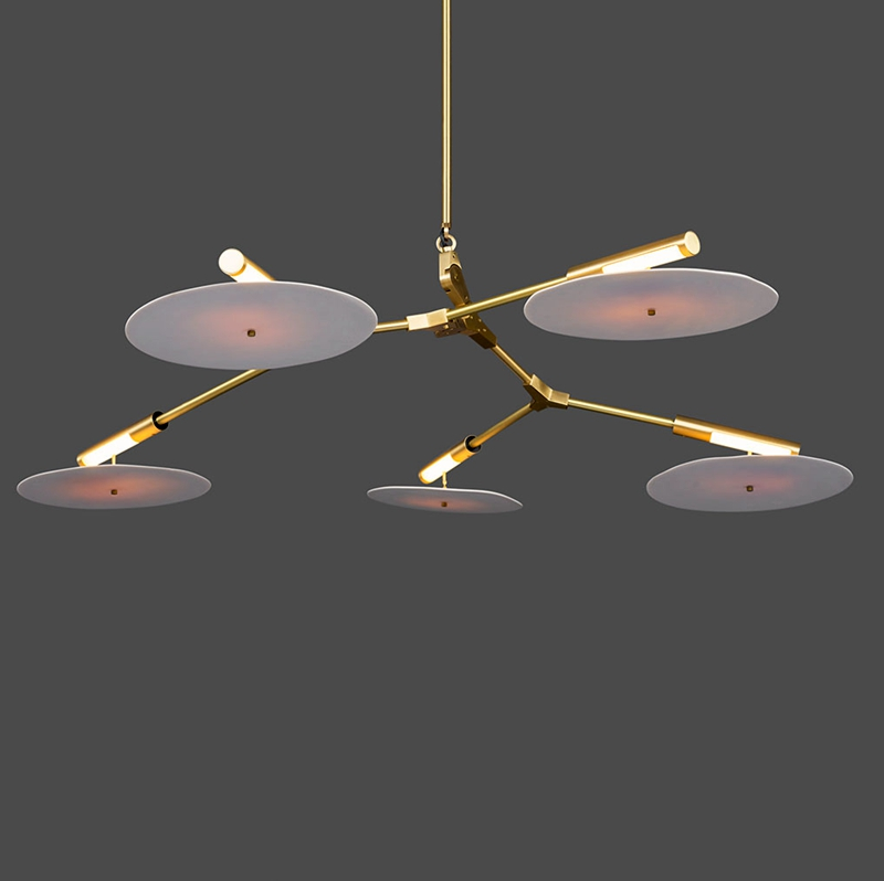 Hot Sale New Modern Italy Style Ceiling Light Northern Modern Restaurant Cafe Lamps Creative Disc Home Lighting Fixtures цены онлайн