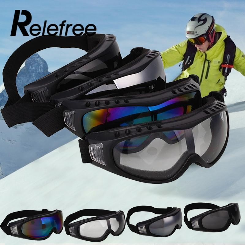 Men Women Professional Windproof 400 UV Protection Hiking Eyewear Sports Ski Glasses Snowboard Skate Skiing Goggles