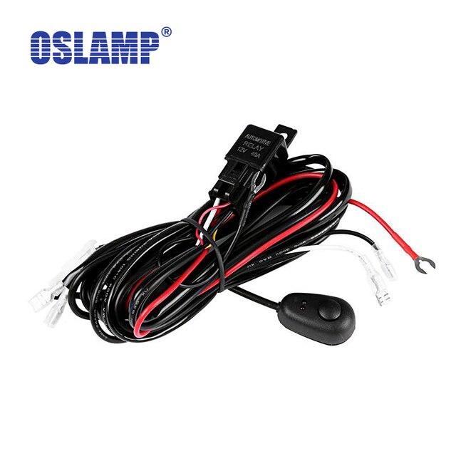 Oslamp Draht Relais Harness Kit mit Schalter/kabelbaum harness kit ...