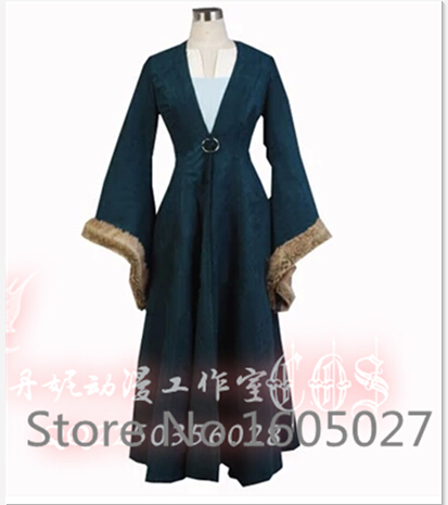 Game of Thrones A Song of Ice and Fire Caitlin Anime Hallowmas Party Clothing Uniform Cosplay Costume Any Size Free Shipping