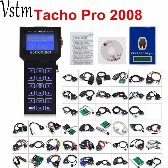 Tacho Pro 2008 Unlock tacho pro Odometer Mileage Correction Tacho pro Universal Dash Programmer no Token Diagnostic tool