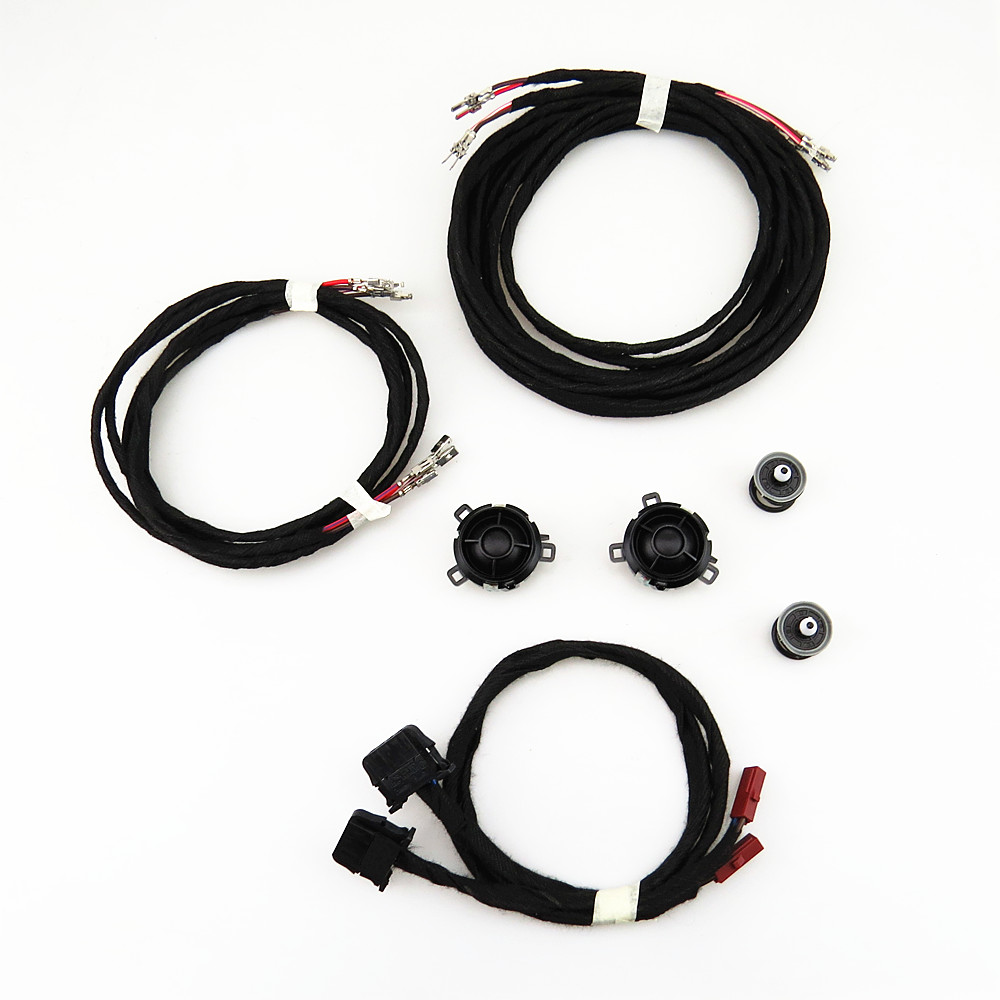 DOXA Rear Door Tweeter Speaker+ Wiring Harness Plug Cable Suite For VW Jetta  Golf GTI MK5 MK6 Scirocco 5KD 035 411A 7L6 868 243-in Multi-tone & Claxon  Horns ...