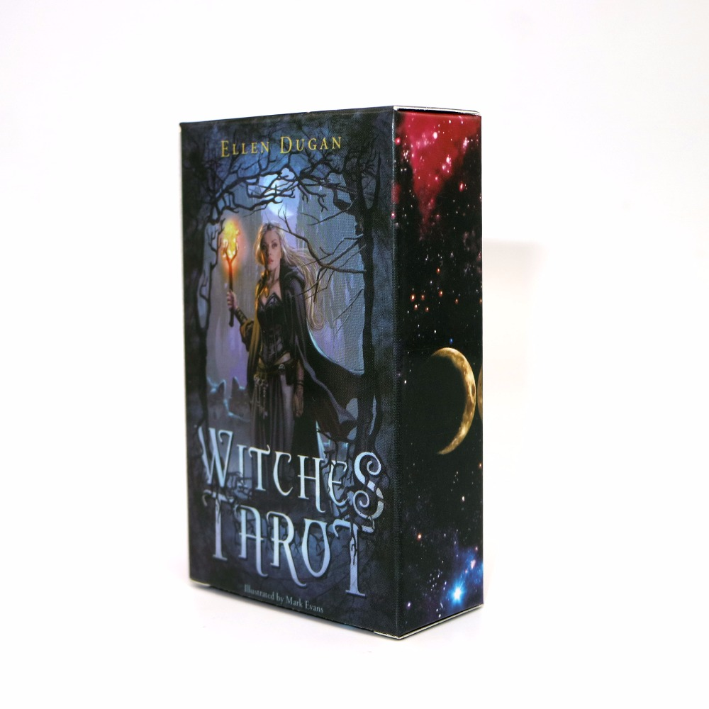 the Witch Tarot Deck cards, read the mythic fate the classic tarot карты