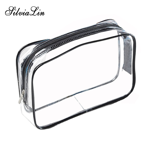 d0fb3ab97afe US $0.82 20% OFF Transparent PVC Bags Travel Organizer Clear Makeup Bag  Beautician Cosmetic Bag Beauty Case Toiletry Bag Make Up Pouch Wash Bags-in  ...