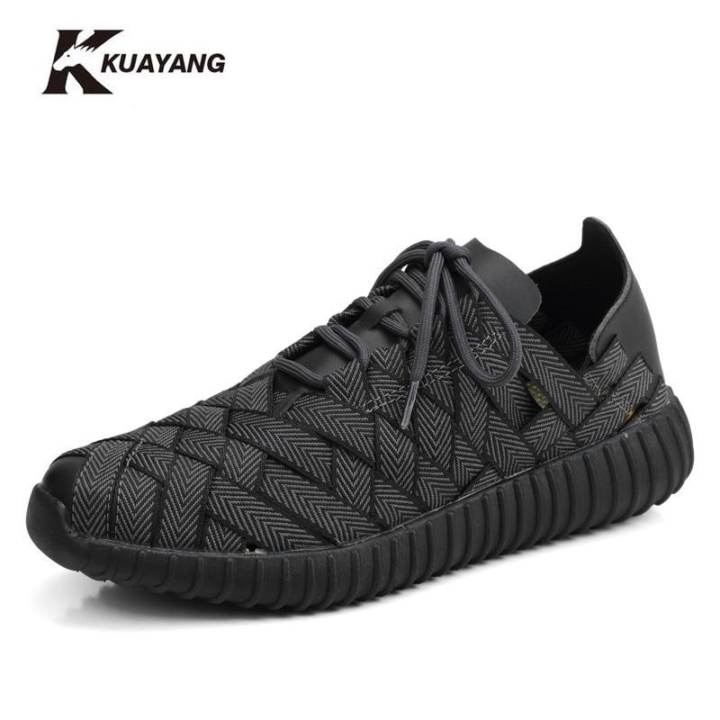 Promoción  nuevo medio (b, m) de primavera y verano de los hombres zapatos casua