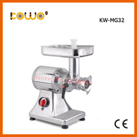 industrial table counter top stainless steel automatic electric food processing machine 200kg/h meat grinder mincer for sale
