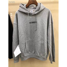 The New Vetements Hoodie 2019 Men Women Casual Cotton knitting Sweatshirts  Autumn Winter High Quality Hoodies
