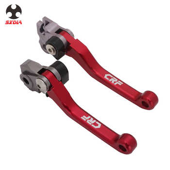 Brake Clutch Levers For Honda XR250/MOTARD CRF125R CRF150R CRF230F CRF250L/M SL230 CRF250R CRF450R Red Motorcycle Accessories - DISCOUNT ITEM  10% OFF All Category